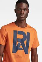G-Star RAW - Graphic raw r t - amber