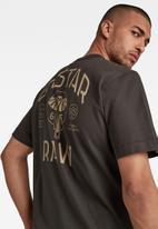 G-Star RAW - Back logo loose r t - raven