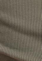 G-Star RAW - Engineered rib tank top dress  - grey