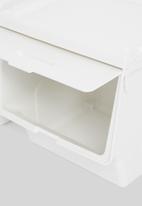 Litem - Set of 2 roomax sliding living box large - white