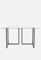Sixth Floor - Cilla desk - black