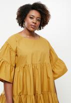 AMANDA LAIRD CHERRY - Plus Tete dress - honey