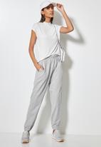 Superbalist - Track pants - light grey melange
