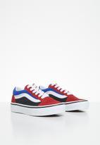 Vans - Uy old skool - red/blue