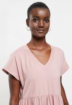 AMANDA LAIRD CHERRY - Nokwe dress - dusty pink