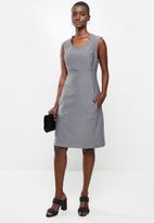AMANDA LAIRD CHERRY - Mona dress - grey