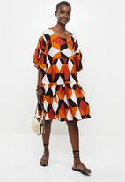 AMANDA LAIRD CHERRY - Tete dress - multi