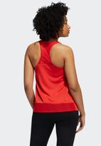 adidas Performance - Heat ready tank top - red