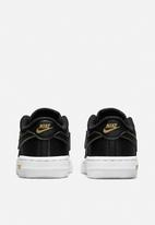 Nike - Nike force 1 lv8 / black/black-metallic gold-white