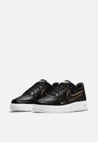 Nike - Nike air force 1 lv8 - black/black-metallic gold-white