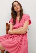 MANGO - Dress siren - pink
