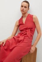 MANGO - Dress nala - red