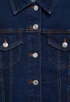 MANGO - Jacket vicky - dark blue
