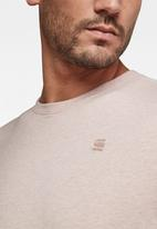 G-Star RAW - Base-s short sleeve tee - lox htr