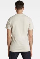 G-Star RAW - Base-s short sleeve tee - whitebait