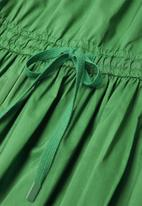 MANGO - Dress zita - green