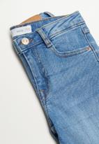 MANGO - Jeans flare - blue