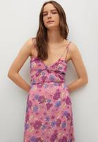 MANGO - Dress bahia - pink
