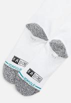 Stance Socks - Kader split socks - white