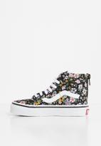 Vans - Uy sk8-hi zip - (fun floral) black/true white
