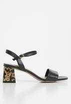 ALDO - Gleawia0 block heel - black