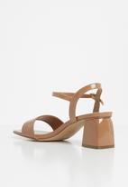 ALDO - Gleawia0 block heel - light brown