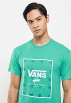 Vans - Classic print box - green