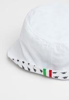 KAPPA - Stefano bucket hat - white