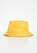 KAPPA - Oliver reversible kaleidescope bucket hat - yellow gold