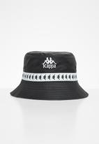 KAPPA - Mason bucket hat - black