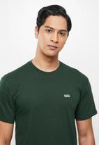Vans - Left chest logo tee - green