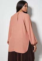 Superbalist - Basic shell blouse - mousse