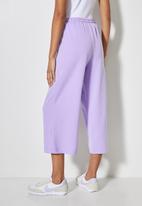 Superbalist - Sweat culottes - lilac