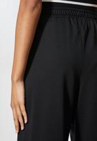 Superbalist - Sweat culottes - black