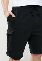 Brave Soul - Auden essential double pocket cargo - black