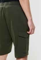 Brave Soul - Auden essential double pocket cargo - khaki