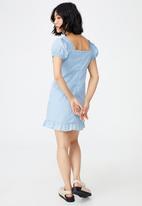 Cotton On - Woven petite lily mini dress - authentic blue