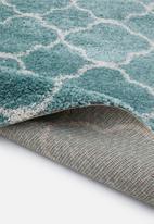 Fotakis - Royal nomadic shaggy rug - blue antique