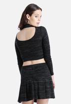 Goldie - Spirit Knitted Crop Top