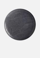 Maxwell & Williams - Panama round platter - dark grey