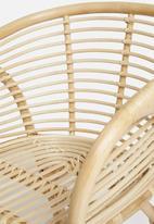 Sixth Floor - Maya rattan chair - natural