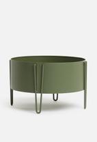 H&S - Flower rack - matt green