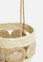 H&S - Hanging flower pot holder