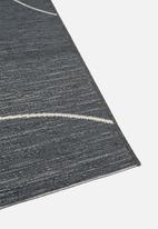 Hertex Fabrics - Gobi rug - charcoal