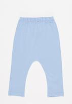 Superbalist Kids - 2 pack leggings - light blue & oatmeal