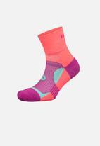 Falke - Trail run anklet socks - sherbert pink