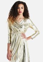 The Lot - Fool's Gold Maxi Dress
