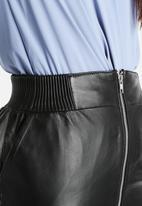 Y.A.S - Maya Zipper Leather Skirt