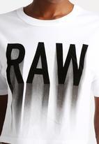 G-Star RAW - Gretch Crop Tee