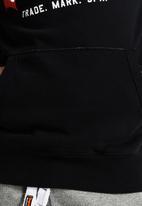Superdry. - Vintage Logo Hood